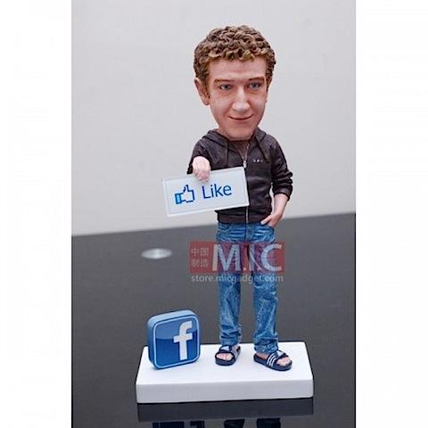 Buy Facebook CEO Mark Zuckerberg Action Figure