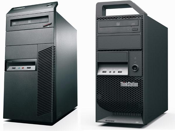 Lenovo ThinkStation E30 and ThinkCentre M81 Desktops