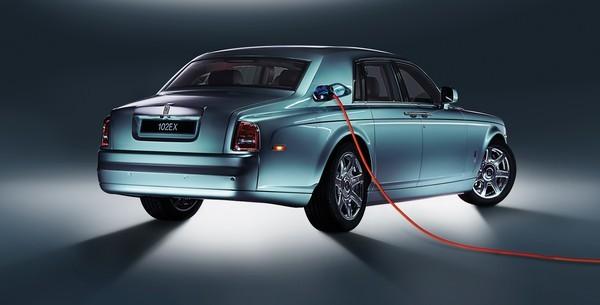 Rolls Royce Phantom Experimental Electric