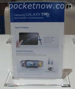 Samsung Unveiled Galaxy Tab 8.9