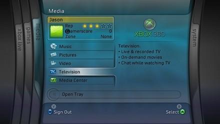 Xbox 360 IPTV