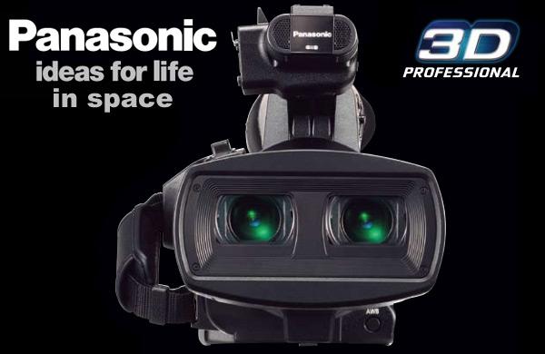 Panasonic AG-3DA1 Full HD 3D Camcorders