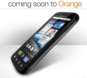 Motorola Atrix Coming To Orange UK