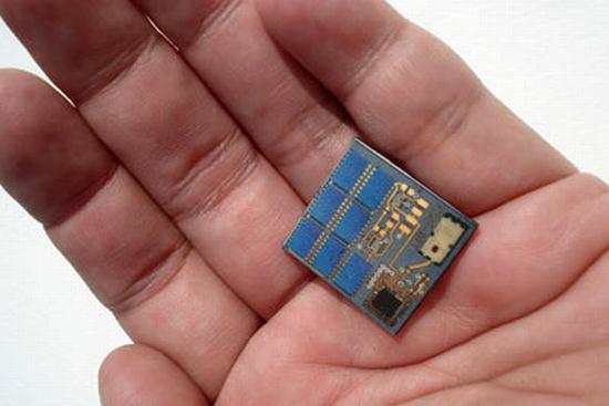 SIM-Sized Chip Satellites