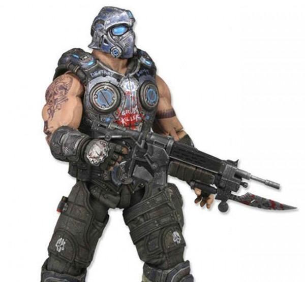 Neca Revealed Gears Of War Clayton Carmine Figure