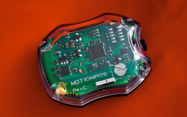 Movea Released MotionPod Wireless Inertial Measurement Unit