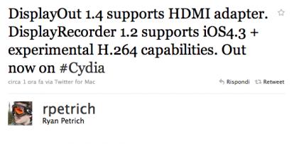 Download DisplayOut 1.4 and DisplayRecorder 1.2