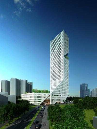 Shenzhen Interchange Tower Designed By WORKac