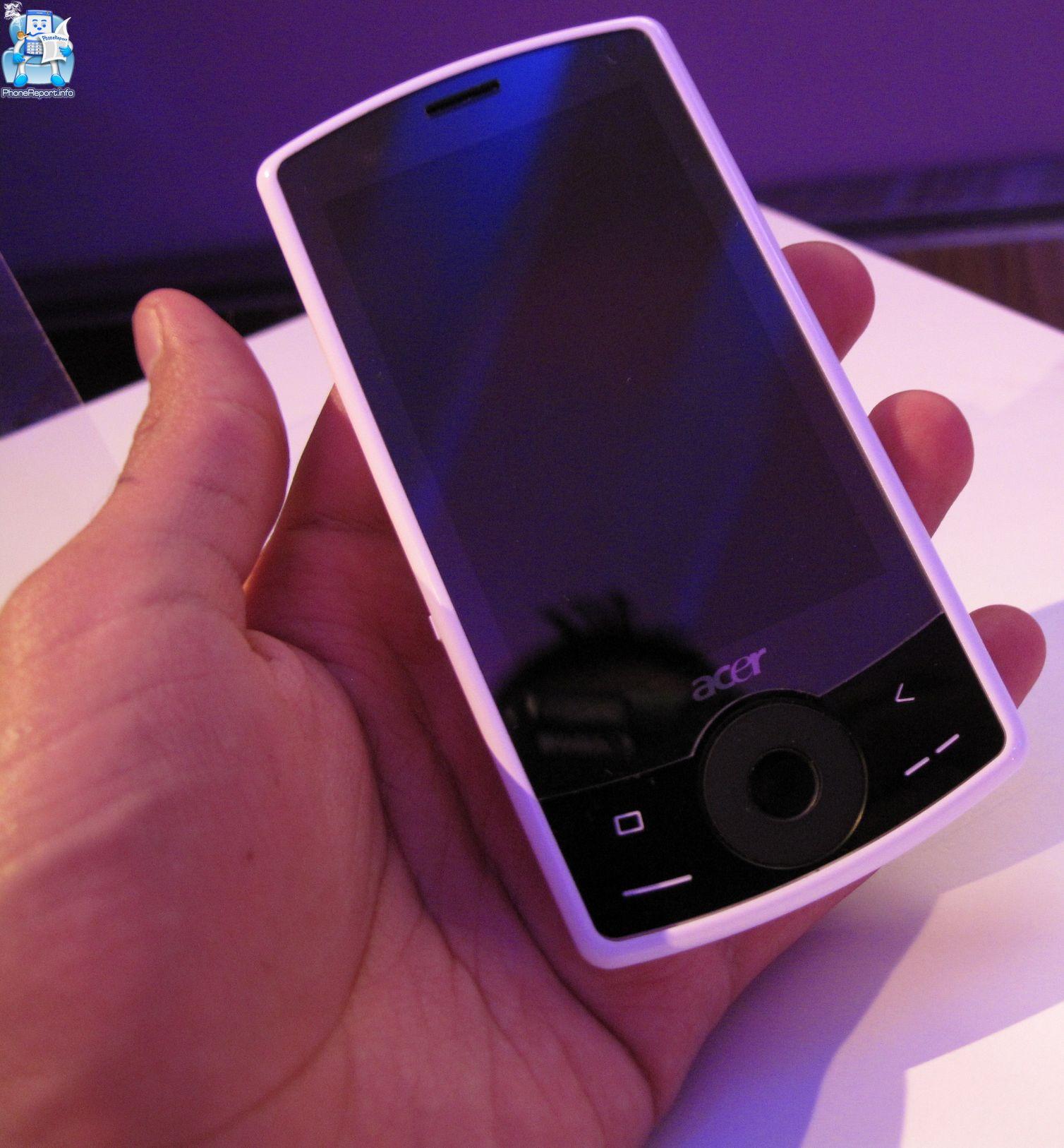 Acer creates department for touchscreen smartphones