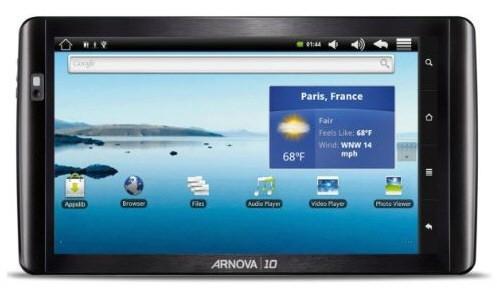 Archos Arnova 10 Tablet Goes On Sale in US