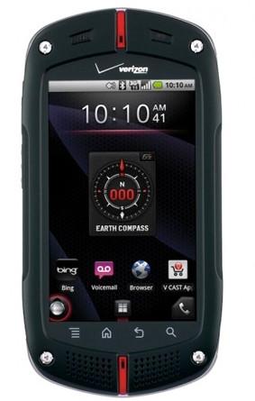 CASIO G'zOne Commando First Ruggedized Android Smartphone