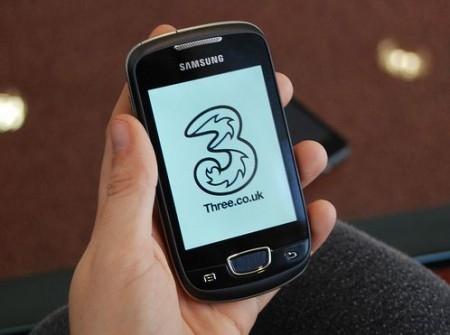 Three UK Selling Samsung Galaxy Mini S5570