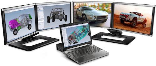 HP W Series EliteBook Laptops