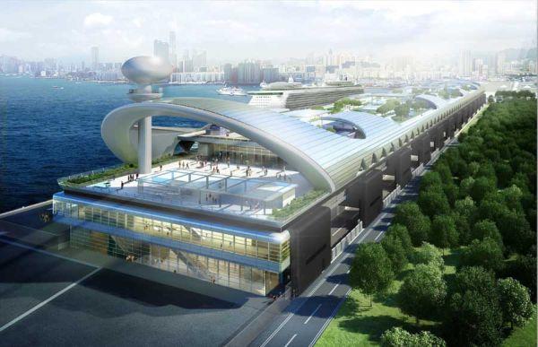 Kai Tak Cruise Terminal in Hong Kong