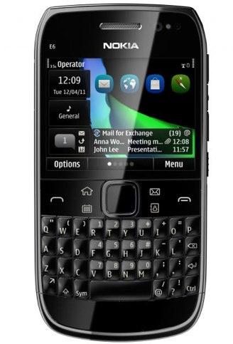 Nokia E6 Official