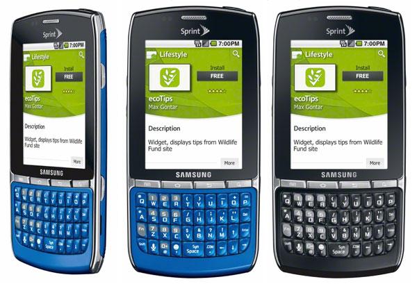 Samsung Replenish On Sprint