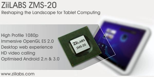 ZiiLABS ZMS-20 & ZMS-40 Processors