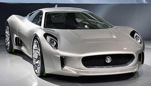 Jaguar C-X75 Upcoming  Hybrid, Minus the turbines production in 2013