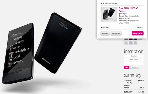 16GB Zune HD Drops To $169