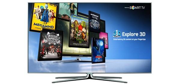 Samsung Explore 3D VOD Service