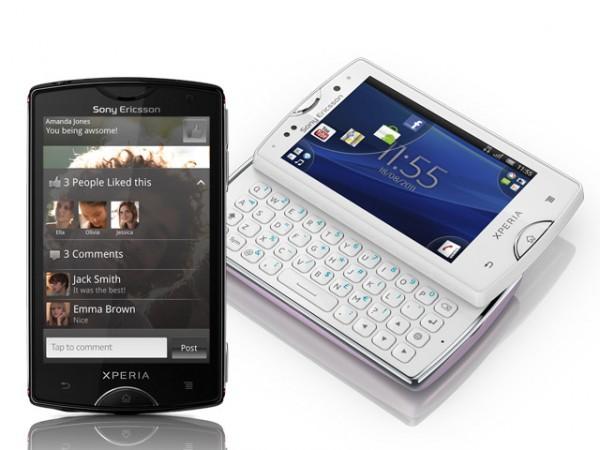 Sony Ericsson Xperia Mini and Mini Pro Smartphones
