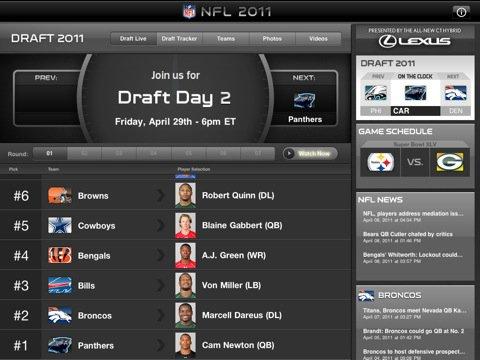 NFL Mobile Apps