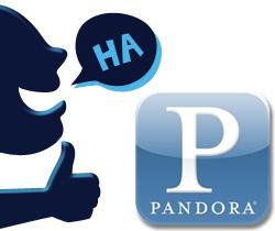 Pandora Comedy Stations