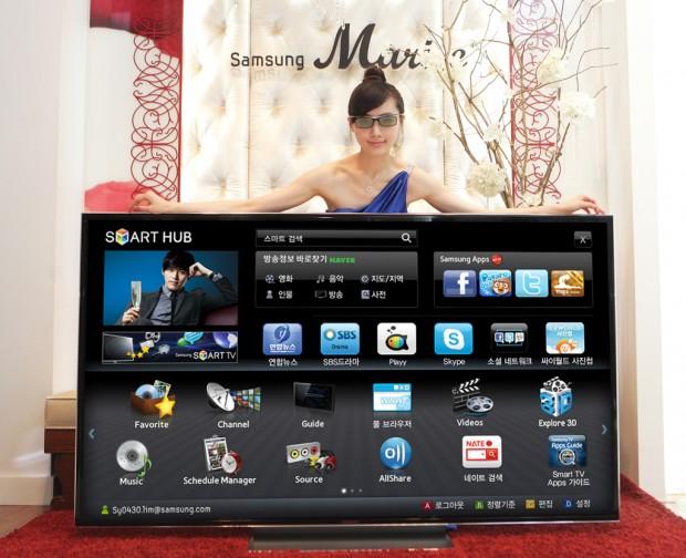 Samsung 75-inch D9500 3D TV