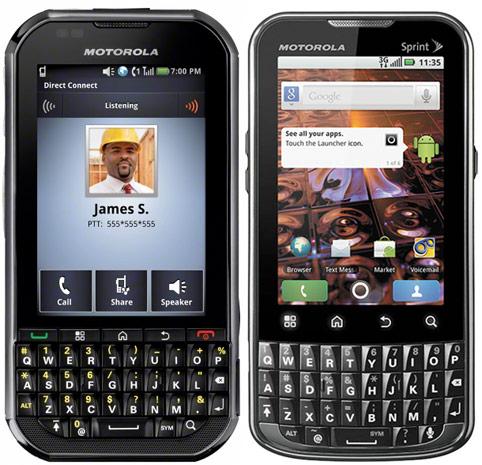 Motorola XPRT And Motorola Titanium