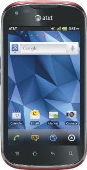 Pantech Burst: Ruby Red (AT&T) 4G Phone