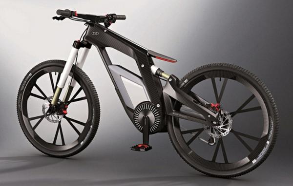 Audi's E-bike, Image Credit : Audi