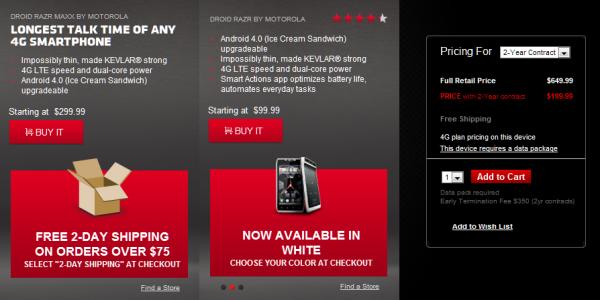 Motorola Droid RAZR Maxx Price Drop , Image Credit: The Tech Journal