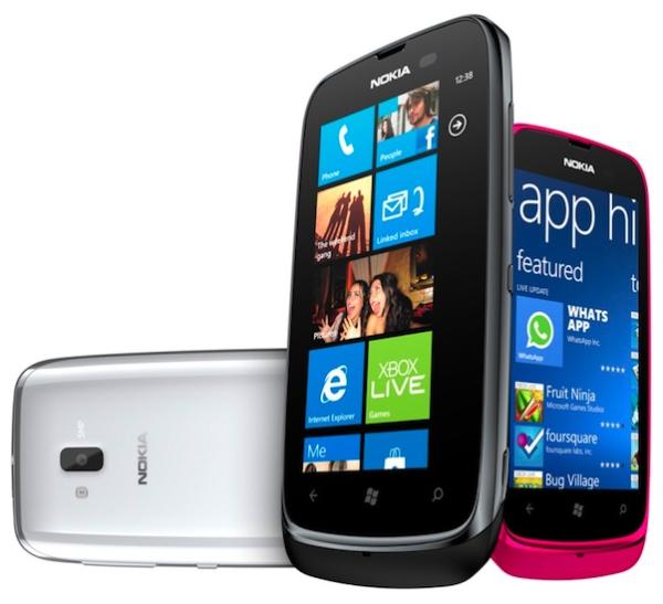 Nokia Lumia 610, Image Credit : Nokia