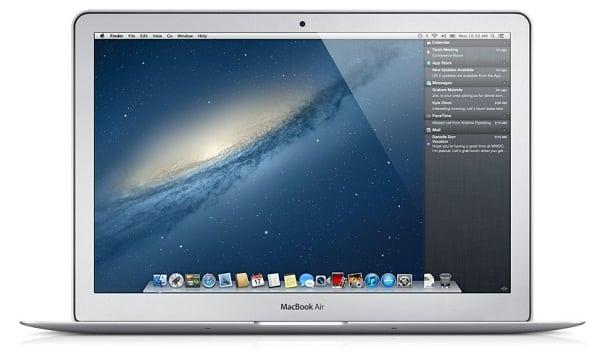 Mac OS X Mountain Lion, Image Credit: Apple