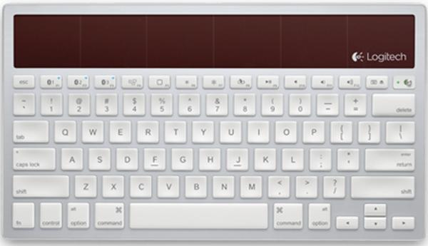 Logitech's Solar Powered Wireless K760 Keyboard, Image Credit : Logitech