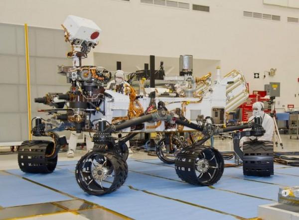 Mars Rover Curiosity, Image Credit : NASA