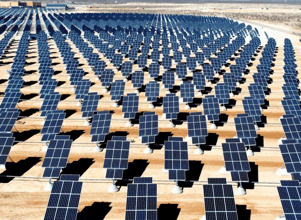 Nevada Solar Plant, Image Credit: renewableenergyindex.com
