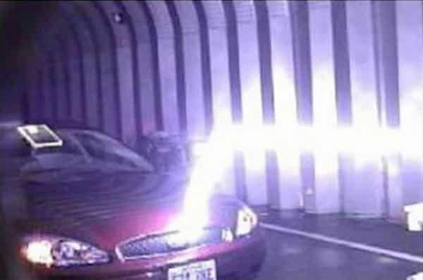 Tesla-style Lightning Bolt Machine, image Credit : U.S. Army