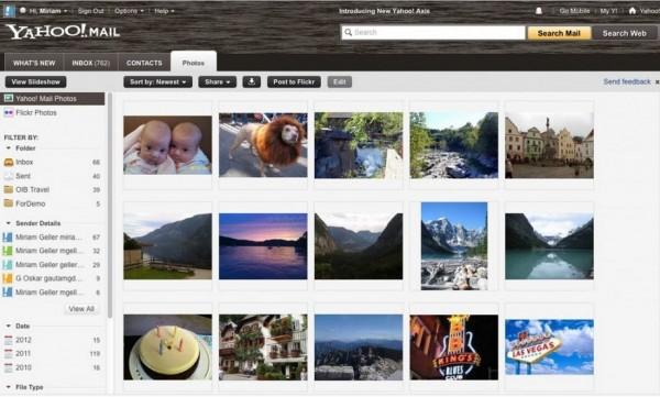 Yahoo Photo App, Image Credit : ymailupdates.com