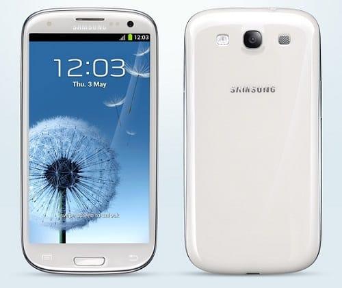 Samsung galaxy s3, Image Credit: Samsung