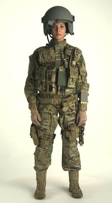A US Soldier Wearing Aviation Warrior, Image Credit : Raytheon