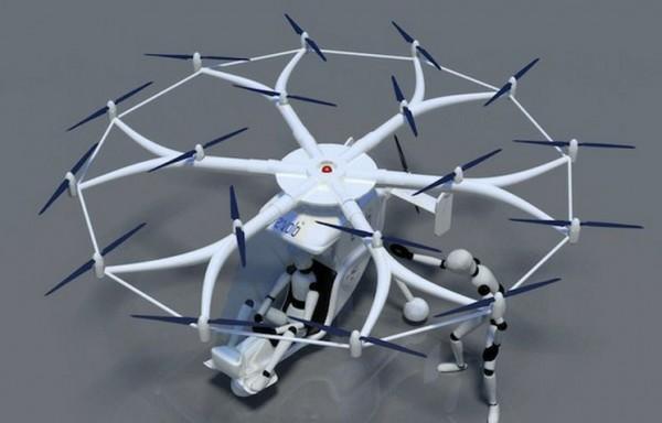 Volocopter, Image Credit : e-volo