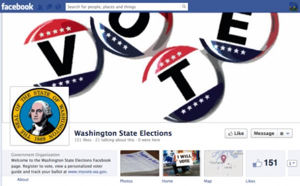 Facebook Voter Registration App Wash.