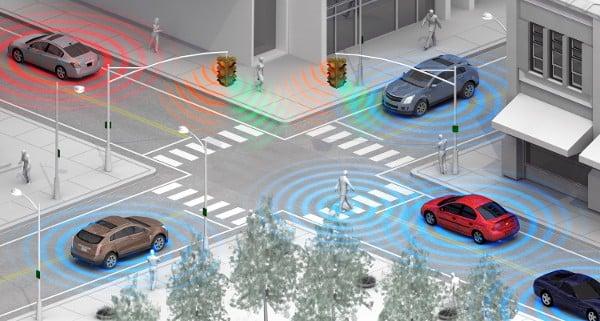 GM pedestrian avoidance system