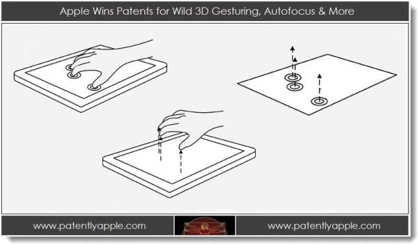 Apple Wild 3D Gesturing