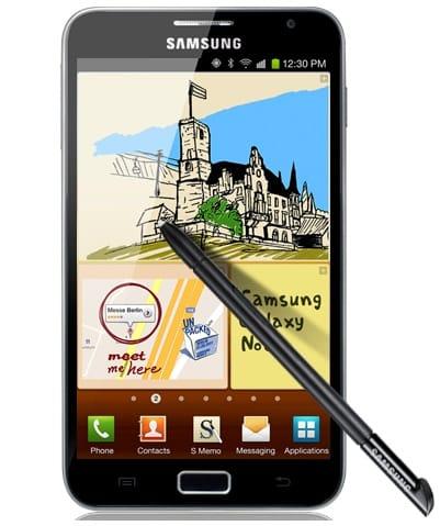 Samsung Gallaxy Note, Image Credit: samsung.com