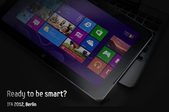 Samsung Windows 8 hybrid tablet, image credit: samsung
