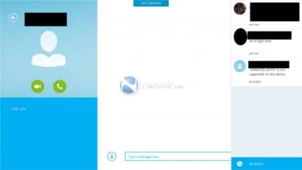 Skype Win8 app 5