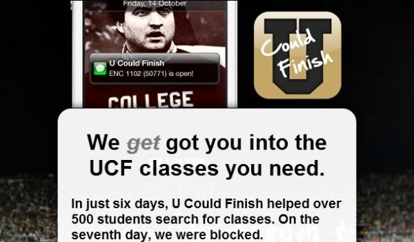 U Could Finish app