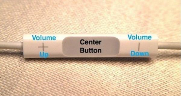 Three Button Of Apple Earphone